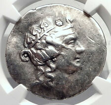 THASOS Thrace 148BC Authentic Ancient Silver Greek Tetradrachm Coin NGC i72604