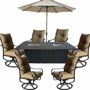 fire pit table set indiana patio