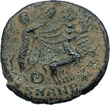 CONSTANTINE I the Great CHARIOT to GOD HAND in HEAVEN Ancient Roman Coin i68175