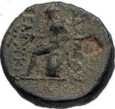 SELEUKOS III Keraunos 225BC Seleukid Ancient Greek Coin ARTEMIS & APOLLO i67599