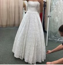 Galina Lace Wedding Dresses for sale   eBay Lace Wedding Gown Galina David bridal