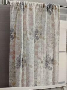 dkny cotton gray curtains drapes