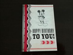 mickey mouse boys birthday greeting