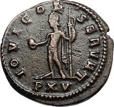 GALLIENUS Authentic Ancient 267AD Antioch Roman Coin w JUPITER aka ZEUS i67413