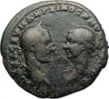 MACRINUS & DIADUMENIAN Authentic Ancient 217AD Roman Coin w NEMESIS i70785