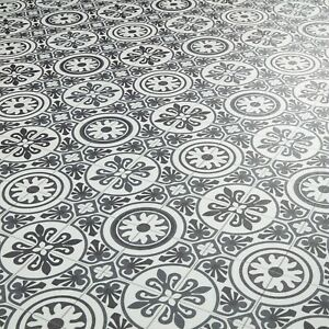 tile effect in laminate vinyl