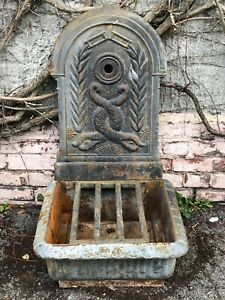 fontaines murales d exterieur ebay