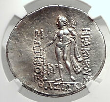 THASOS Thrace 148BC Authentic Ancient Silver Greek Tetradrachm Coin NGC i72630