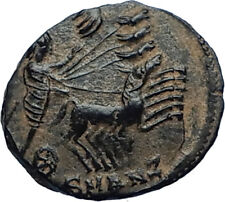 CONSTANTINE I the Great CHARIOT to GOD HAND in HEAVEN Ancient Roman Coin i68176