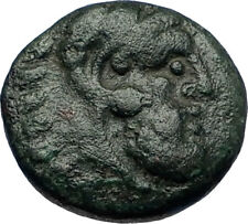 ADAIOS Thrace Scythian King Authentic Ancient 253BC Greek Coin HERCULES i69184
