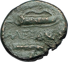 ALEXANDER III the GREAT 336BC Macedonia Ancient Greek Coin HERCULES CLUB i68832