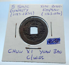 1163AD CHINESE Southern Song Dynasty Genuine XIAO ZONG Cash Coin of CHINA i72525