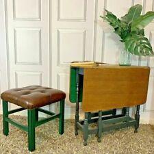 wooden footstools for sale ebay