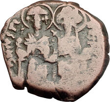 JUSTIN II & SOPHIA 565AD Constantinople Follis Ancient Byzantine Coin i62567