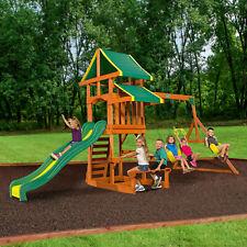 Outdoor Swings Slides Gyms For Sale Ebay