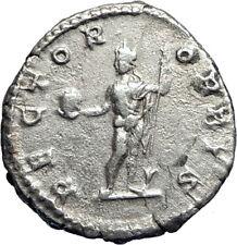 Caracalla as Nude Sol RECTOR ORBIS 201AD Rare Ancient Silver Roman Coin  i73386