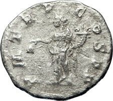 Severus Alexander 222AD Authentic Silver Ancient Roman Coin Liberty i69467