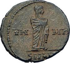 Divus Saint CONSTANTINE I the GREAT 347AD Authentic Ancient Roman Coin i68017