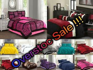 purple comforters bedding sets for