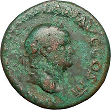 VESPASIAN 71AD Ancient Roman Coin Aequitas Cult  Fair trade Equality  i25156