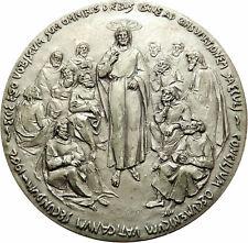 POPE John XXIII of Vatican  5cm Christian Jesus Christ 12 Apostles Medal i75422