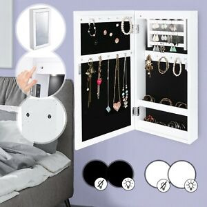 armoire bijoux miroir dans armoires