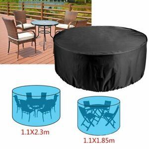 round patio table cover for sale ebay