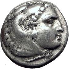 PHILIP III Alexander III the Great Half Brother Ancient Silver Greek Coin i64504