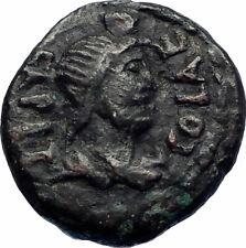 ANTONINUS PIUS 138AD Jerusalem as Roman Aelia Capitolina Ancient Coin i73515