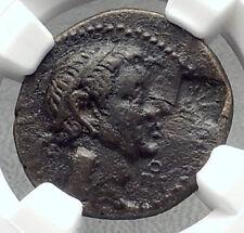 KINGDOM of CHALKIS - LYSANIAS Rare HISTORICAL King Ancient Greek Coin NGC i72626