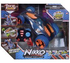 Nikko Rc Stunt Car Psycho Gyro Blue Children Remote Control Play Vehicle 90251