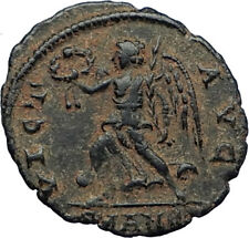 CONSTANTIUS II Authentic Ancient 342AD Antioch RARE Roman Coin w VICTORY i71000