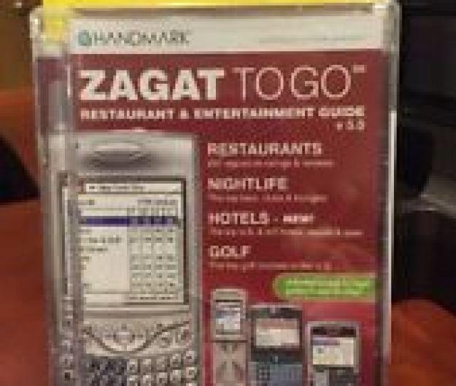 Handmark Zagat To Go Restaurant Entertainment Guide 2006 Win Mac Palm Os