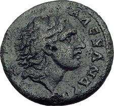 ALEXANDER the Great BUCEPHALUS Ancient Greek Coin Roman Macedonia Koinon i64762