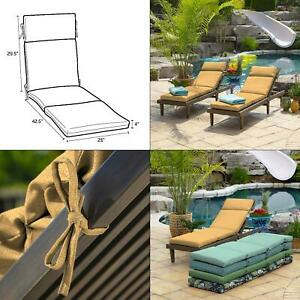yellow patio bench cushions pads for
