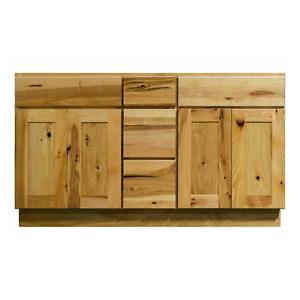 hickory cabinets in bathroom vanities