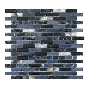 crackle glass tile for sale in stock