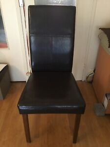lot 4 chaises ebay
