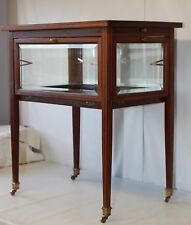 table basse vitrine en vente ebay