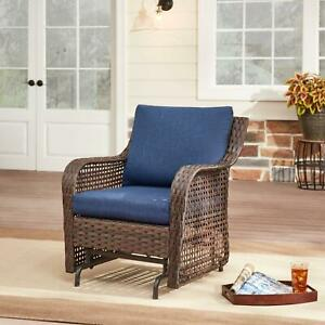 wicker glider patio chairs for sale