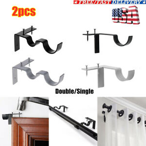 curtain rod support products for sale
