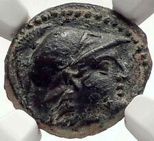 ALEXANDER I BALAS Rare R2 Ancient SELEUKID Greek Coin ATHENA TRIPOD NGC i68957