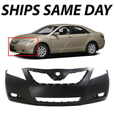 New Primered Front Per Fascia For Replacement 2007 2009 Toyota Camry Hybrid