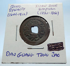 1821AD CHINESE Qing Dynasty Genuine Antique XUAN ZONG Cash Coin of CHINA i73019