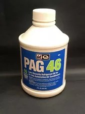 PAG 46 Low Viscosity Refrigerant Oil R-134a Auto A/C Systems 8oz