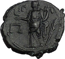 SALONINA Gallienus Wife266AD Alexandria Tetradrachm Dike Virgo Roman Coin i44158