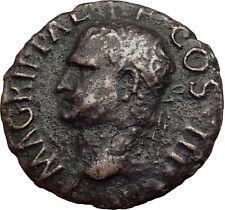 Marcus Vipsanius Agrippa Augustus General Ancient Roman Coin by CALIGULA i63508