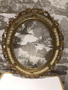 cadre ovale baroque dans cadres pour la