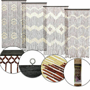 bamboo beaded curtain products for sale