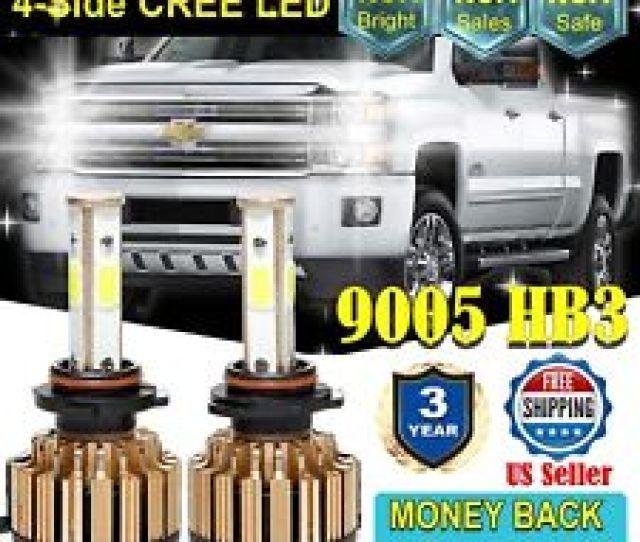 9005 Cree Led Headlight Hb3 Bulbs For Chevy Silverado  960w 6000k Fits Acura Nsx